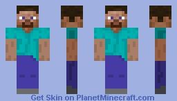 Double-Sided Steve Minecraft Skin