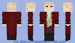[LOTC] [Commission] Cherry Red & Dandelions Minecraft Skin