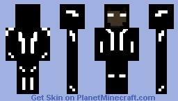 Nightshade (Face adjustment) Minecraft Skin
