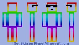 Rainbow Box 4.0 Minecraft Skin