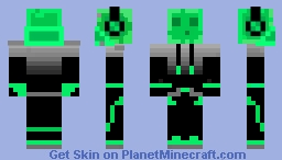 jelly but a slime Minecraft Skin