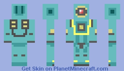 pathfinder apex legends Minecraft Skin