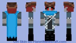 Hikaru Tiefling Version (DnD OC) Minecraft Skin