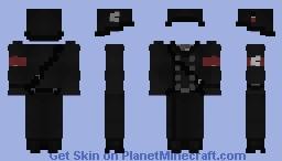 German Greatcoat SS / Abrigo alemán SS Minecraft Skin