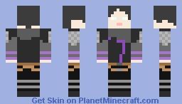 wraith apex legends Minecraft Skin