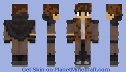 Genderbend Wilbur (Pogtopia) Minecraft Skin