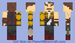 Fuse (Apex Legends) Minecraft Skin