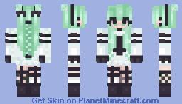 Minty Personality Minecraft Skin