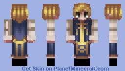 ʜᴇ ᴜɴɪᴛᴇᴅ ᴛʜᴇ ᴋɪɴɢᴅᴏᴍ - ᴘʀɪɴᴄᴇ ᴀʀᴛʜᴜʀ ᴘᴇɴᴅʀᴀɢᴏɴ Minecraft Skin