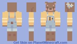 cozy cottagecore bear 🐝 Minecraft Skin