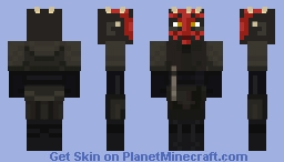 Darth Maul Minecraft Skin