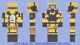 Imperial Research Facility Guard Uniform. Minecraft Skin