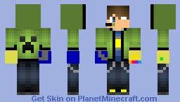 my newest skin Minecraft Skin