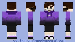 weest (with glasses weestFlushed ) Minecraft Skin