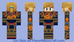 BOTW Link (Ancient armor) Minecraft Skin