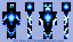 Creeper Bot Minecraft Skin