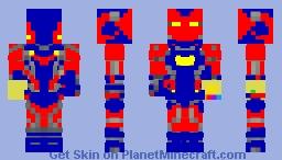 newest skin in iron man suit Minecraft Skin