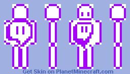 twitch skin Minecraft Skin
