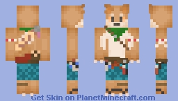 protector of chickens Minecraft Skin