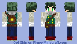 Deku Medieval Minecraft Skin