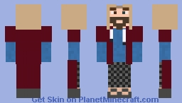 Marvel's Thor (Endgame Fat thor) Minecraft Skin