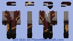 Gilded {HW} Minecraft Skin