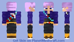Future Trunks Dragon Ball Z Minecraft Skin