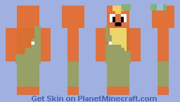 willy  the weasel from  willy's wonderland Minecraft Skin