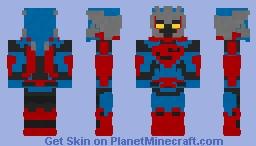 Unchained Armor Superman Minecraft Skin