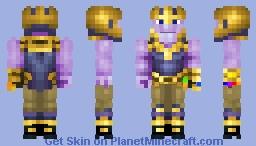 The mad titan Minecraft Skin