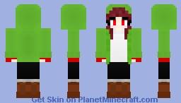 Storyshift Chara (Female V2) Minecraft Skin