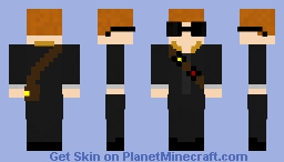 Disc Hunter Minecraft Skin
