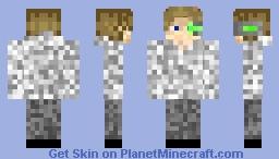 My skin but with Iskallium eye Minecraft Skin