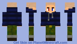 jack manifold but bald and no 3d glasses only quirky eyes Minecraft Skin