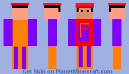 The Forster Boy Minecraft Skin