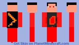 The Blaze Minecraft Skin