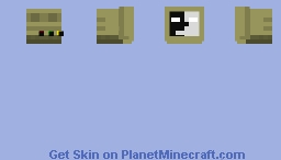 SCP-079 Minecraft Skin