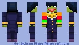 revolution kermit+ josuke Minecraft Skin