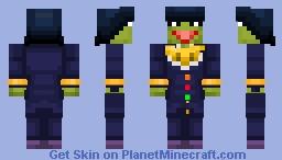 kermit+ josuke Minecraft Skin