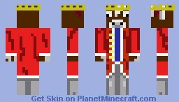 king cow Minecraft Skin