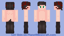Rory (Void_beanz) the satyr Minecraft Skin