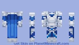 Blue armor Minecraft Skin