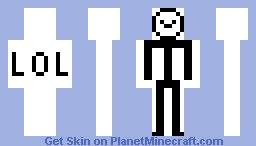 Lol Stickman Minecraft Skin