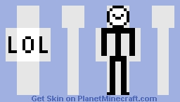 LoL Stickman Updated Minecraft Skin