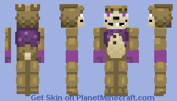 GlitchTrap (image glitch also) Minecraft Skin