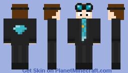 the Dimond minecart Minecraft Skin