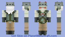 Doctor Animo | Ben 10 Minecraft Skin