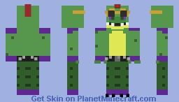 Monty Gator Minecraft Skin