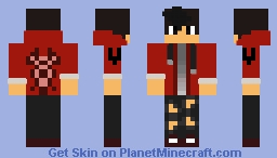 Aaron Lycan Minecraft Skin