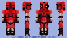 STAR WARS SITH LADY (DARTH TALON) Minecraft Skin